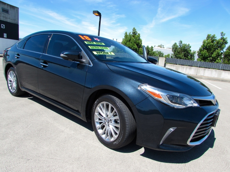 Toyota Avalon 2018 price $0