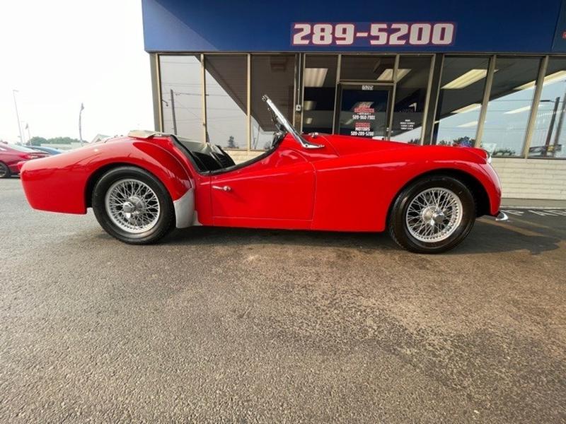 Triumph TR3A 1960 price $27,995