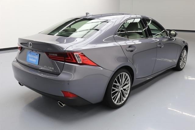 Lexus IS 200t 2016 price $28,599