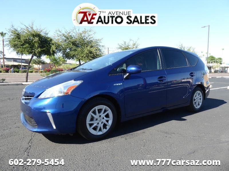 Toyota Prius v 2012 price $8,495