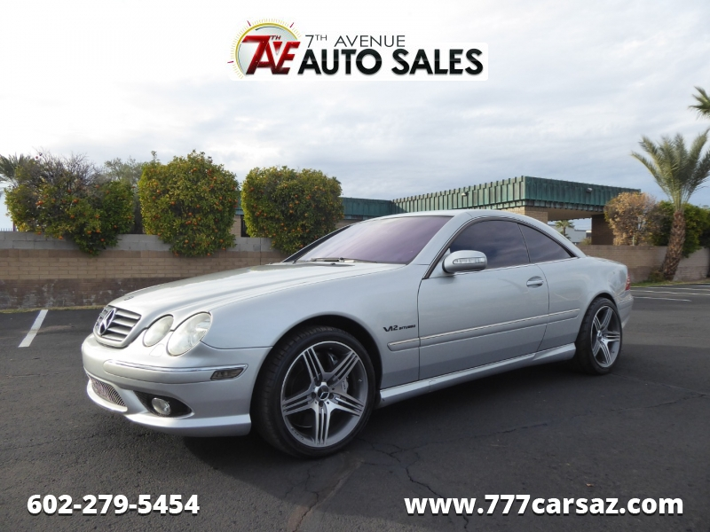 Mercedes-Benz CL65 AMG Turbo 2005 price $18,995