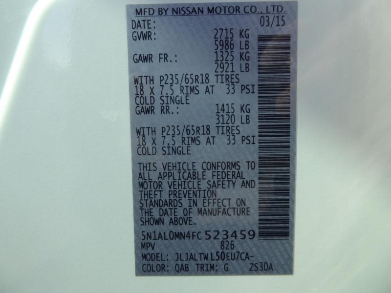 Infiniti QX60 2015 price $15,950