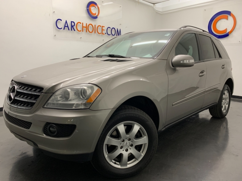 MERCEDES-BENZ ML 2007 price $8,900