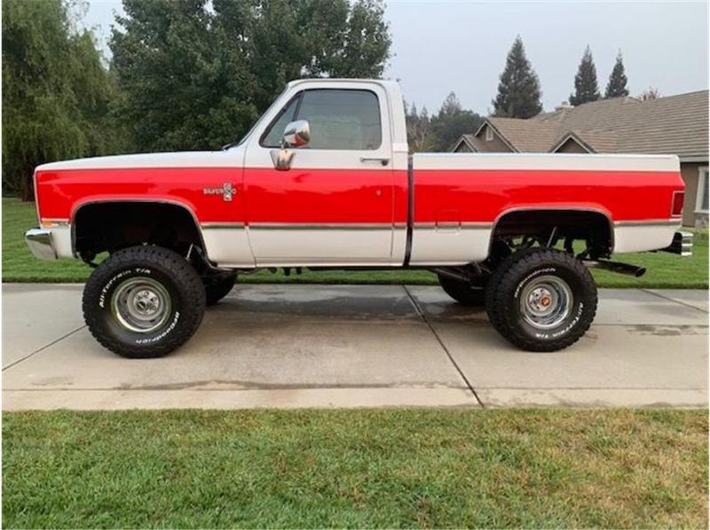 Chevrolet k10 1985 price $34,995