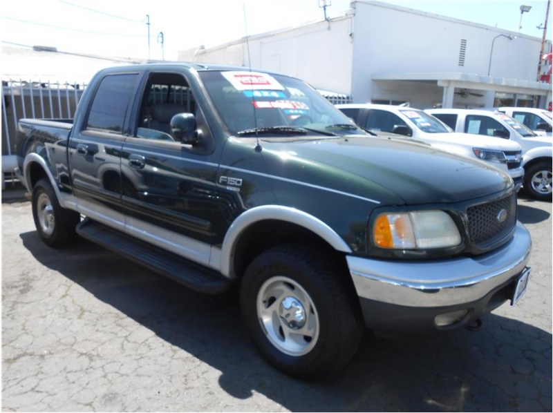 Ford F150 SuperCrew Cab 2001 price $10,995
