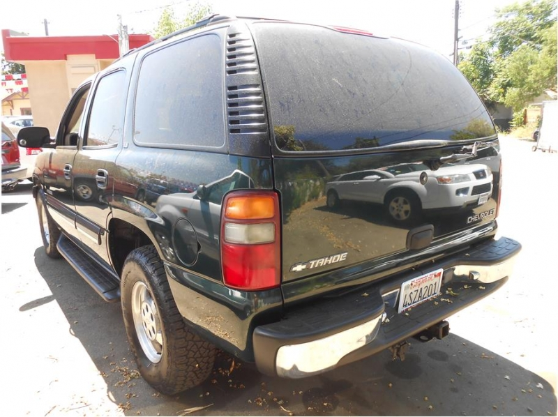 Chevrolet Tahoe 2001 price $7,995