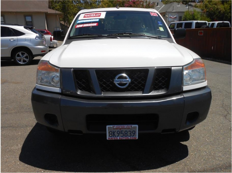 Nissan Titan King Cab 2008 price $16,995