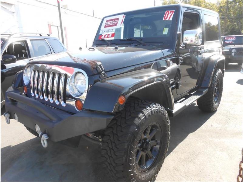 Jeep Wrangler 2007 price $19,995