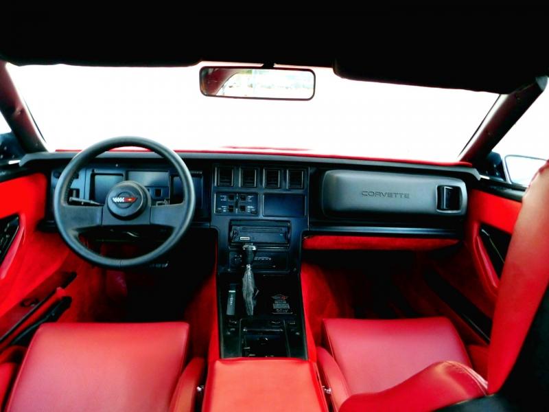 Chevrolet Corvette 1987 price $8,440