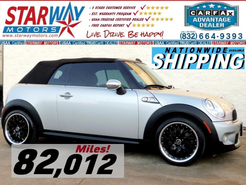 Mini Cooper Convertible 2009 price $9,995