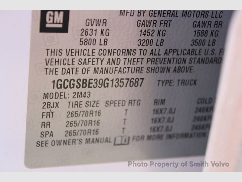 Chevrolet Colorado 2016 price $19,777