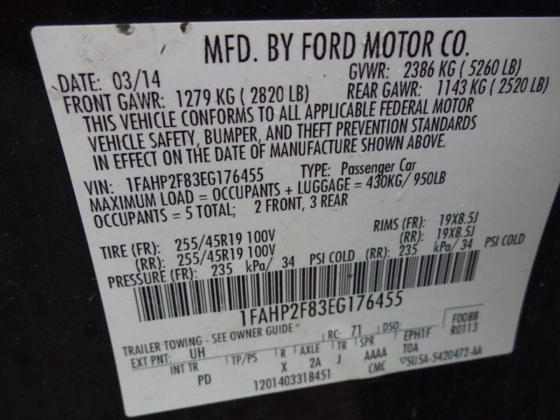 FORD TAURUS 2014 price $1,200 Down