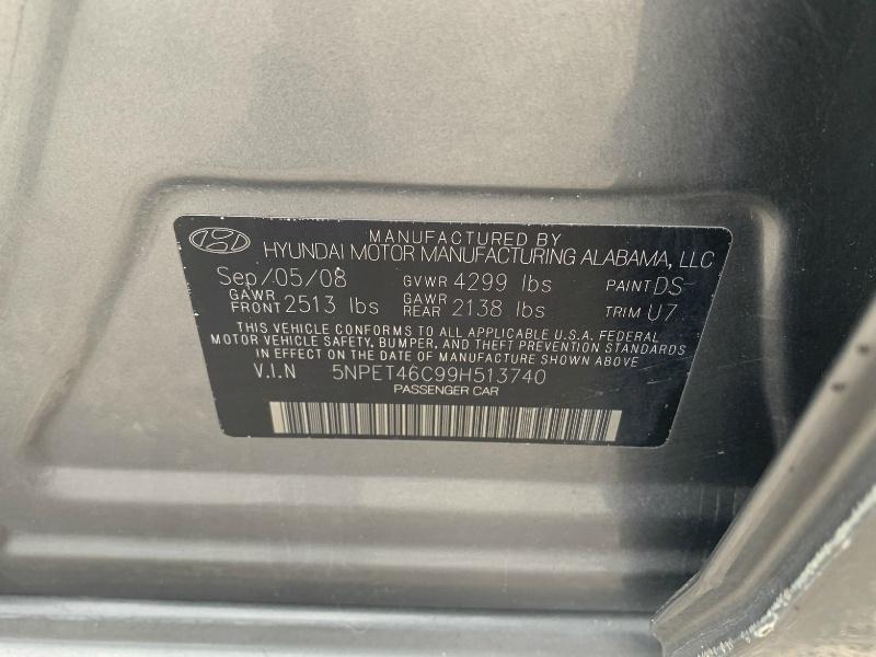 Hyundai Sonata 2009 price $2,900