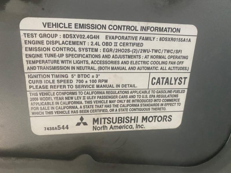 Mitsubishi Eclipse 2008 price $3,995