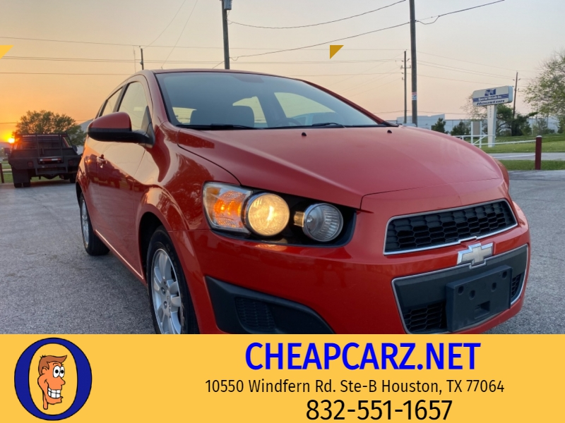 Chevrolet Sonic LT 2012 price $4,995