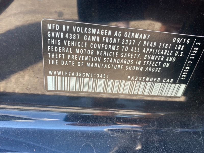 Volkswagen Golf 2016 price $29,995