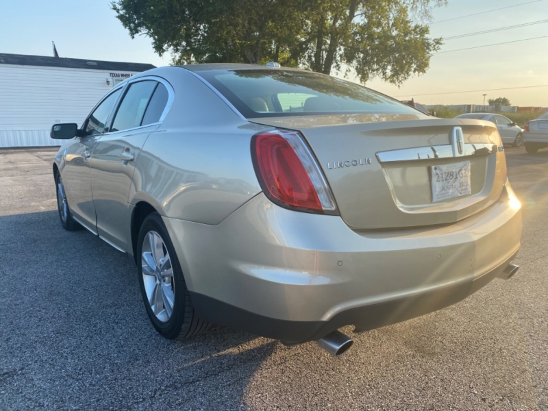 Lincoln MKS 2011 price $6,500