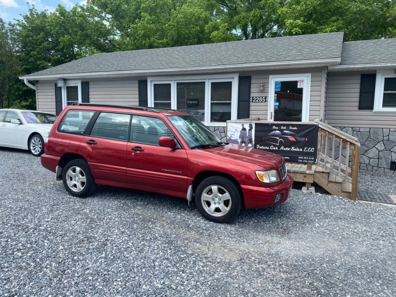 Subaru FORESTER 2002 price $4,500