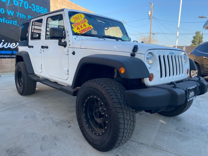 Jeep Wrangler Unlimited 2011 price $26,999