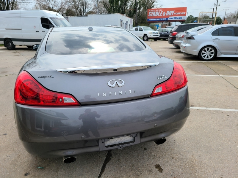 Infiniti G37x Coupe 2011 price $12,000