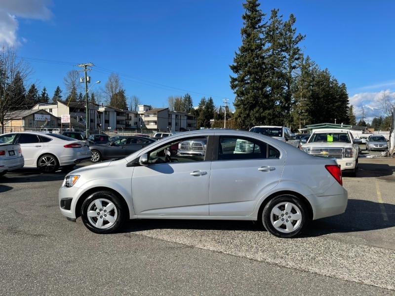 Chevrolet Sonic 2015 price $8,999