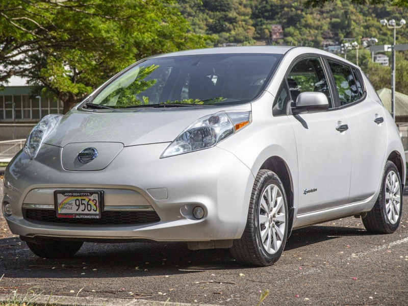NISSAN LEAF 2017 price $10,499