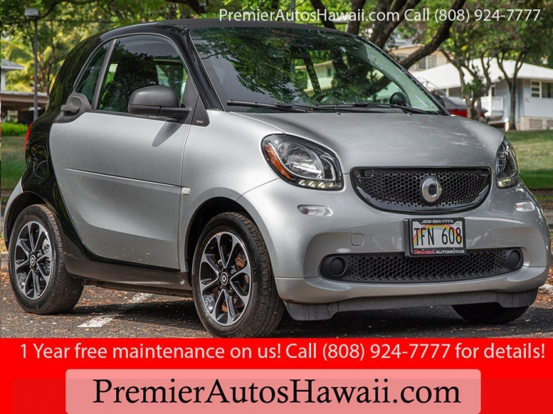 SMART FORTWO 2017 price $10,999
