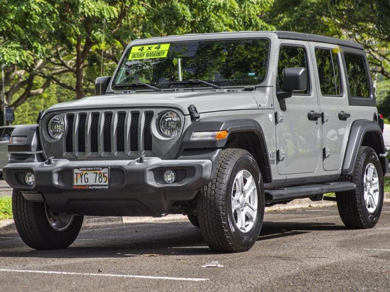JEEP WRANGLER UNLIMI 2019 price $45,999