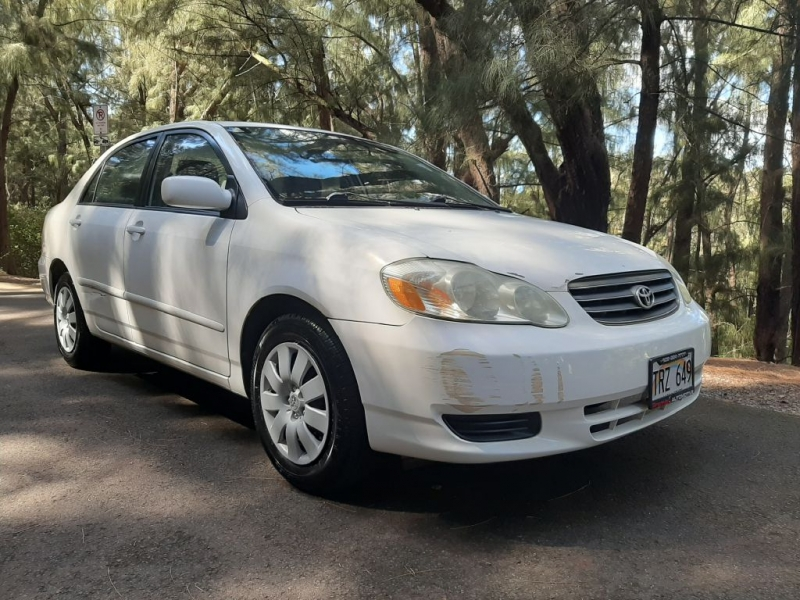 TOYOTA COROLLA 2003 price Call for Pricing.