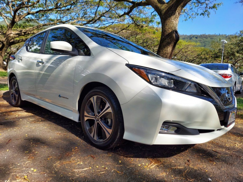 NISSAN LEAF 2018 price $22,000