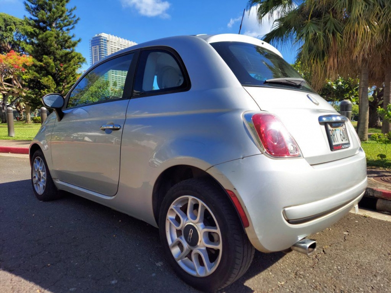 FIAT 500 2012 price $7,600