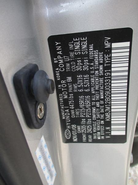 Hyundai Tucson 2009 price $4,795
