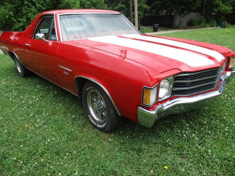 Chevrolet El Camino 1972 price $16,995