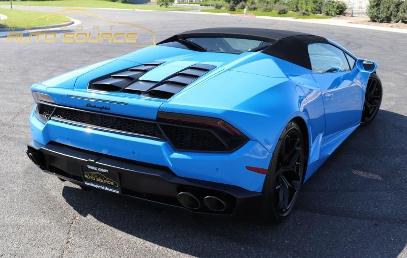 Lamborghini Huracan 2017 price $202,888