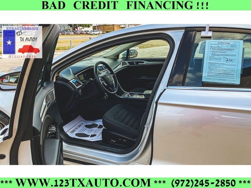 Ford Fusion 2017 price **BAD CREDIT FINANCING**