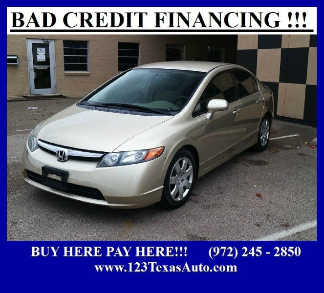 Honda Civic Sdn 2008 price **FINANCIAMOS**