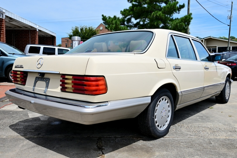 Mercedes-Benz 420 1986 price $7,900