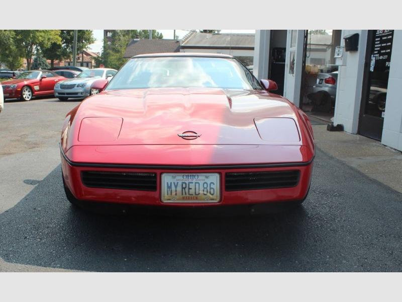 CHEVROLET CORVETTE 1986 price $17,995
