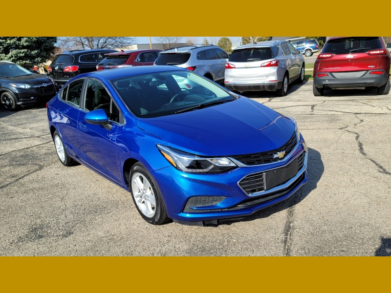 Chevrolet Cruze 2017 price $9,249