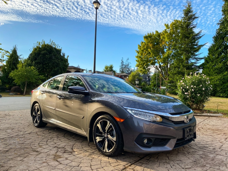 Honda Civic Sedan Touring TURBO CVT 2017 price $21,888