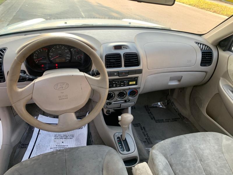 Hyundai Accent 2005 price $1,750