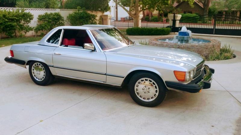 Mercedes-Benz SL-Class 1979 price $16,900