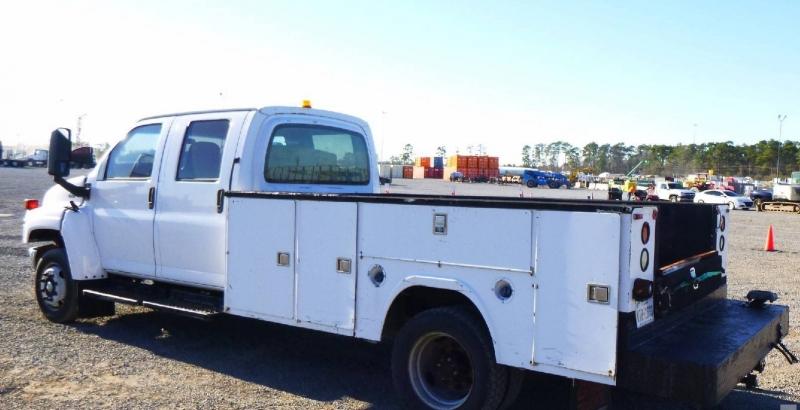 Chevrolet C5500 Crew Cab Service Utility 2005 price $0