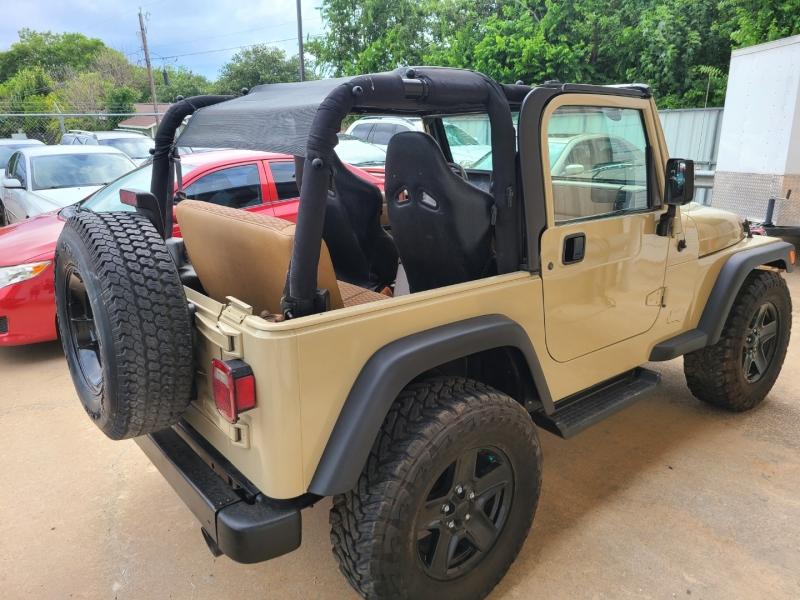 Jeep WRANGLER / TJ 2001 price $6,500