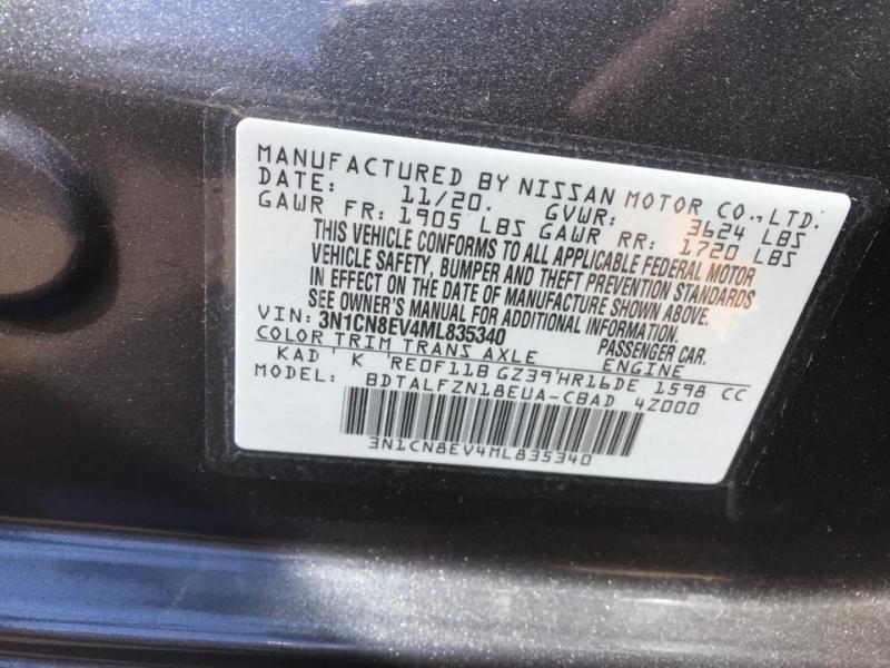 Nissan Versa 2021 price $14,990