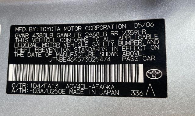 Toyota Camry 2007 price $0