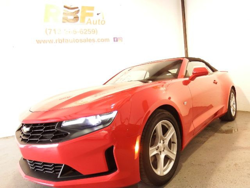 Chevrolet Camaro 2020 price $26,495