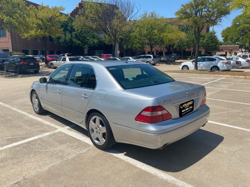 Lexus LS 430 2005 price $7,400