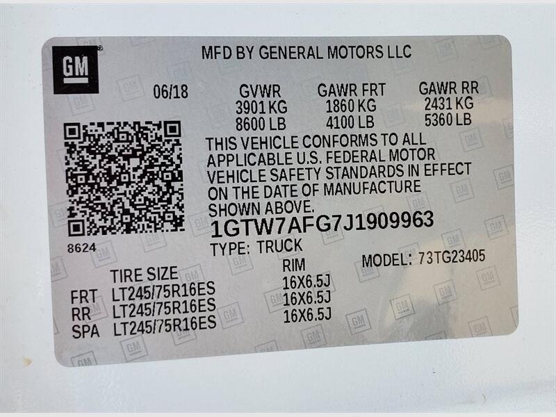 GMC Savana Cargo Van 2018 price $2,500 Down