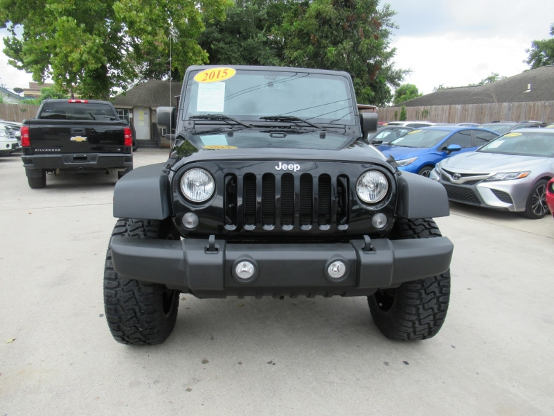 Jeep Wrangler Unlimited 2015 price $5,995